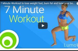 7分钟快速瘦身运动 改善你的健康 在家就可完成(视频)