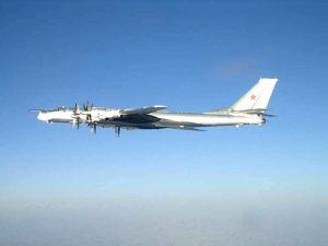 俄機1天4闖防空區 韓10多架戰機緊急升空伴飛