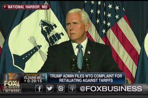 美副總統彭斯強硬放話:若中方報復 美國將永不退縮