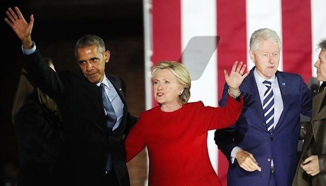 美媒揭秘:出賣美國利益給普京 是奧巴馬和克林頓夫婦