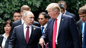 川普拒绝以美官员换12名俄被告 白宫回击谣言