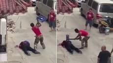 兰州瓜农反抗暴力执法 怒捅城管1死2伤