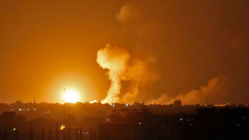 军人遭击毙 以色列加萨走廊发动空袭反撃