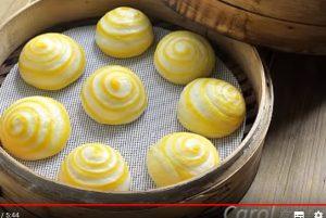 奶黃包 家庭簡單做法(視頻)
