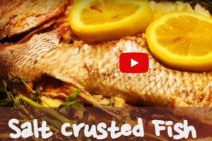 鹽焗魚 家庭簡單做法(視頻)
