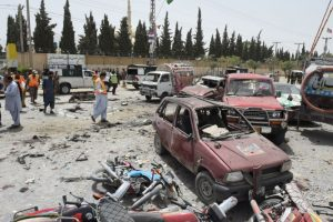巴基斯坦大選 投票所遭攻擊至少30死逾40傷