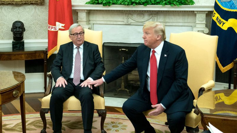 再贏中共一招? 歐盟增購美國大豆和能源