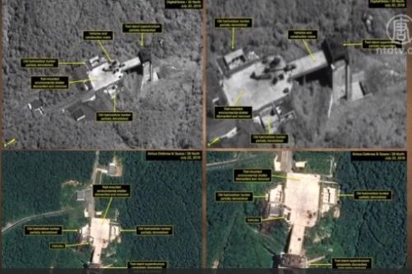 朝鮮拆除衞星發射場 希望先簽和平協定