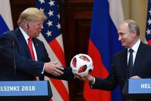 足球內藏晶片 白宮:普京送川普 通過安檢