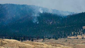 加國BC省正面臨森林大火及烟霧緊急狀態