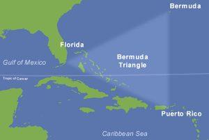 船机神秘失踪 科学家解百慕大三角洲之谜