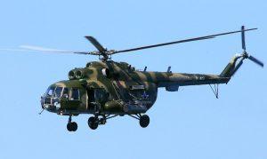 俄罗斯米-8直升机坠毁 机上18人全罹难