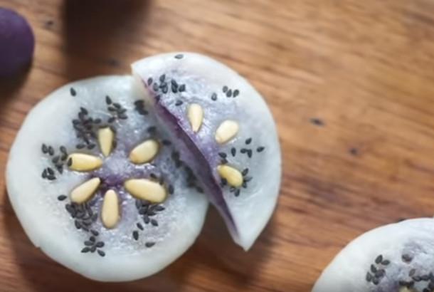 紫薯燒餅 健康有韌勁(視頻)