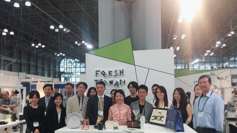 臺灣設計三度遠征紐約 Fresh Taiwan深耕策略奏效 可望打進美國博物館通路