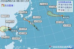 第15號颱風麗琵直撲日本 可能橫掃九州