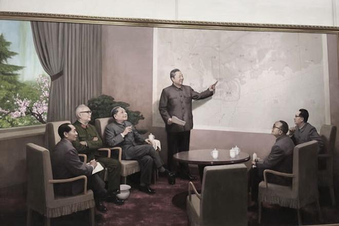 """深圳特区谁提出?北京展出""""历史画作""""惹巨大争议"""