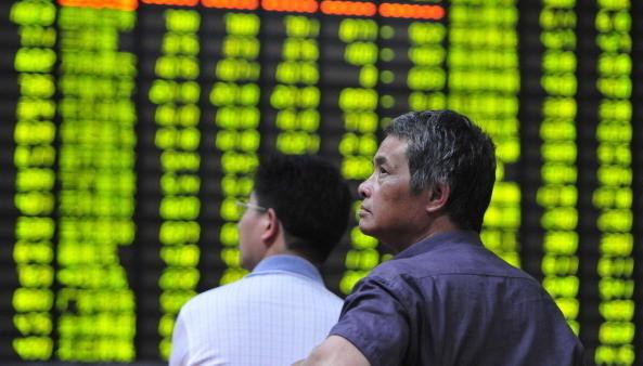 美中談判令美股大漲陸股大跌 韓媒:中國經濟亮紅燈