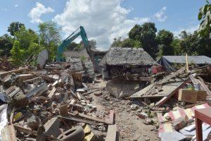 印尼龍目島再發6.3級地震 居民尖叫跑到路上(視頻)