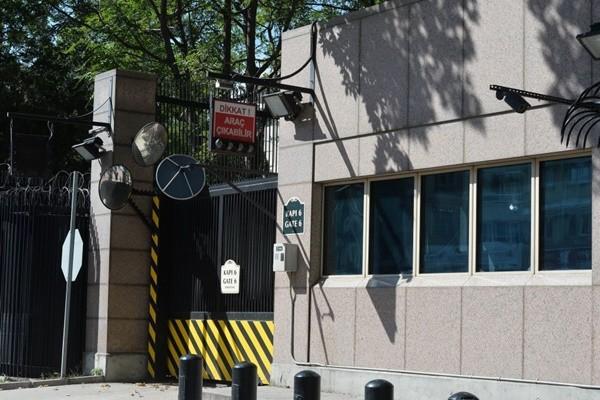 美使馆遭枪击 土耳其逮捕2嫌
