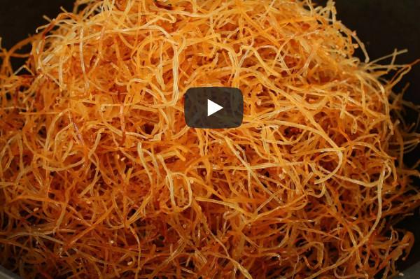 鱿鱼丝 鲜美松脆 家庭简单做法(视频)