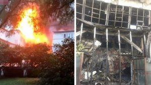 哈尔滨温泉酒店夺命大火 至少37死伤