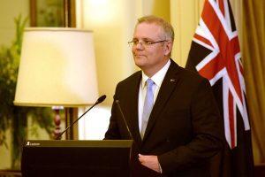 川普电话道贺 澳新总理莫里森邀其到访