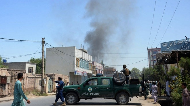 联军空袭反撃 阿富汗IS分支领袖身亡