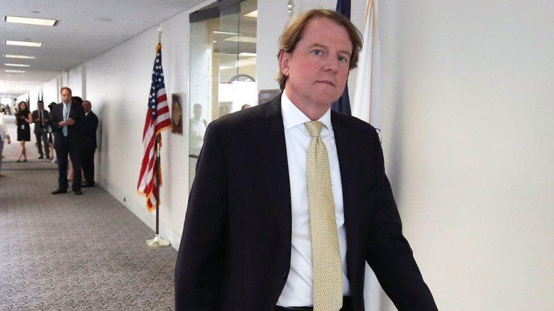 白宮法律顧問離職另有原因 川普已有滿意人選
