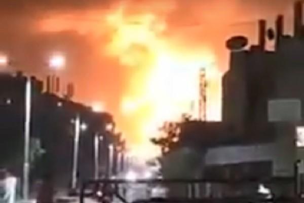 空军基地弹药库爆炸 叙利亚军方:非以色列空袭造成