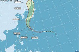 强台飞燕预测4日登陆 赴日旅游应注意