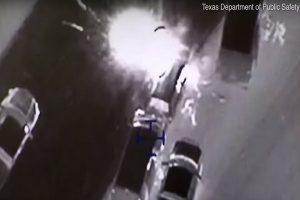 德州奥斯汀连环炸弹客 遭警围捕影片曝光