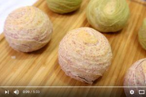 芋頭酥、抹茶紅豆酥 家庭簡單做法(視頻)
