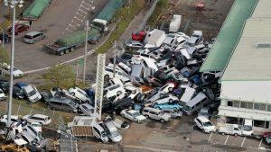「飛燕」襲日釀重災 製造業與電子供應鏈大亂