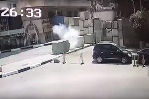 欲炸美駐開羅大使館 埃及男失手提前引爆