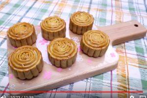 廣式月餅、蓮蓉月餅 家庭簡單做法(視頻)