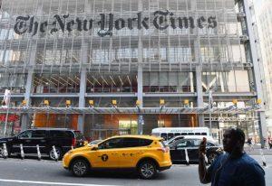 《纽时》搅动美政府高层 川普要求交出匿名作者