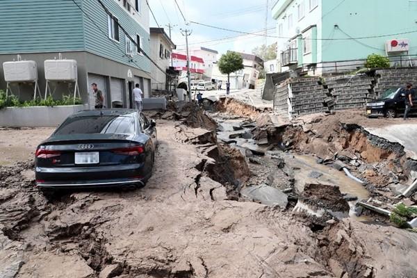 天搖地動!日本1天內發生88起地震