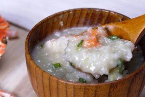 快速煮粥的秘诀 螃蟹粥 每一口都吃到鲜美(视频)