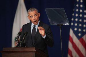 奧巴馬演講攻擊 川普回應: 我看得睡著了