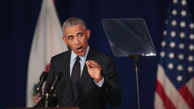 奥巴马演讲攻击 川普回应: 我看得睡着了