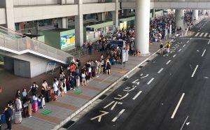 中方误判陆客受困关西机场 用天灾散播假消息