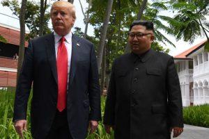 朝鮮閱兵現積極信號 川普:喜歡與金正恩對話