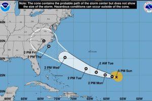 「佛羅倫斯」變颶風 美東岸三州進入緊急狀態