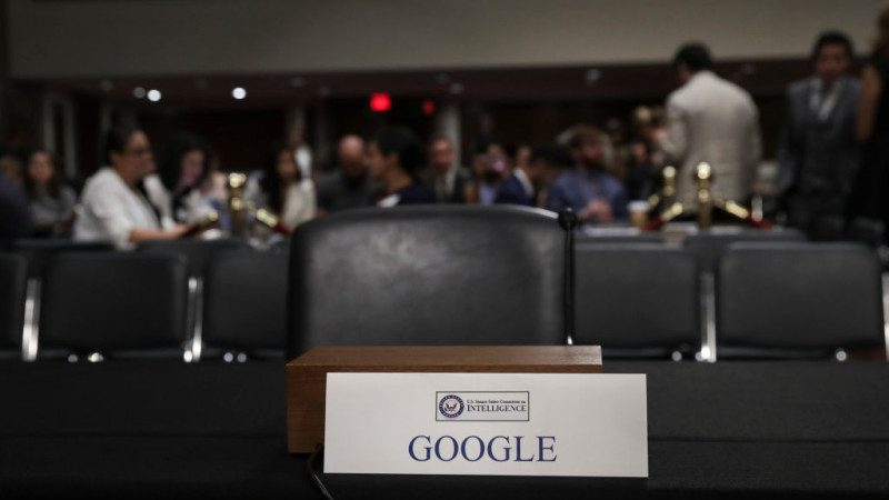 谷歌缺席國會聽證 戰略專家: 將經歷長期痛苦