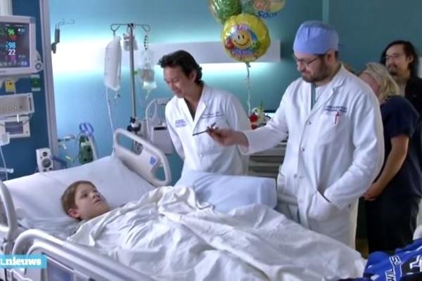 百萬分之一奇蹟 鐵條貫穿男童頭部 還有望完全康復