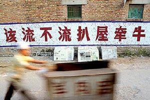 爆笑且心酸!盤點那些年中國鄉村雷人標語(組圖)