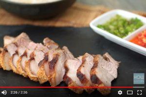 港式脆皮燒肉 簡單家常菜(視頻)
