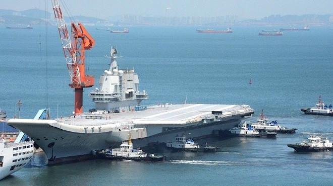 大陸首艘航母現原形  獲評全球倒數第一