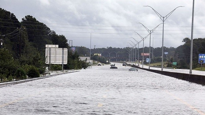 佛罗伦斯减弱 洪水肆虐已酿16死