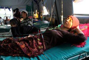 强震后又爆疟疾疫情 印尼龙目岛进入紧急状态
